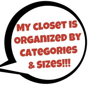 HOW TO FIND THINGS IN MY CLOSET!